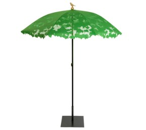 Garden parasols for summer shade