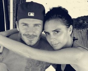 David Beckham gives Victoria all the credit.