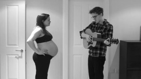 The pregnancy song that has the world swooning