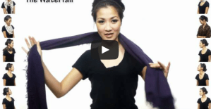 25 awesome ways to wear a scarf