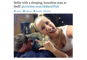 """What I want to say to the teenagers posting selfies with homeless people."""