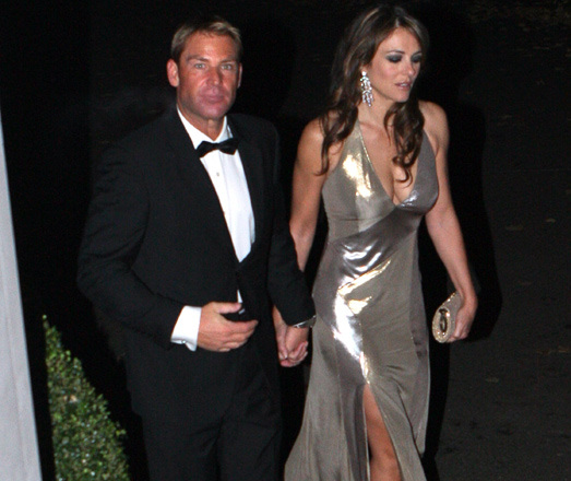 Have Shane Warne and Liz Hurley split?