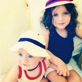 Skyler and Kaius, Rachel Zoe's children