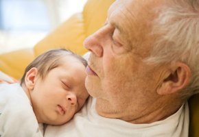 Should you ban your family from holding your newborn baby?