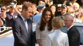 Kate and Wills put the 'royal' into the Royal Easter Show.