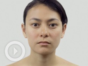 Amazing! Watch a woman age decades in minutes