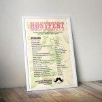 Plakat Høestfest 2013