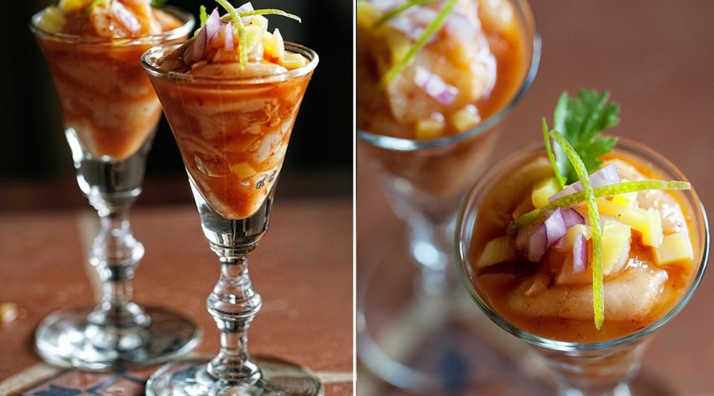The Ivory Hut: Tropical Beach Ceviche