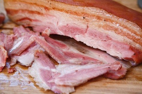 The Ivory Hut: Home-cured Bacon