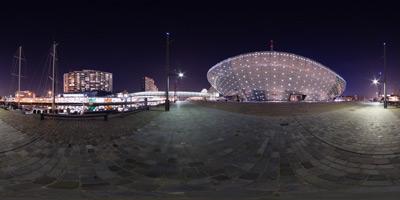Klimahaus Bei Nacht