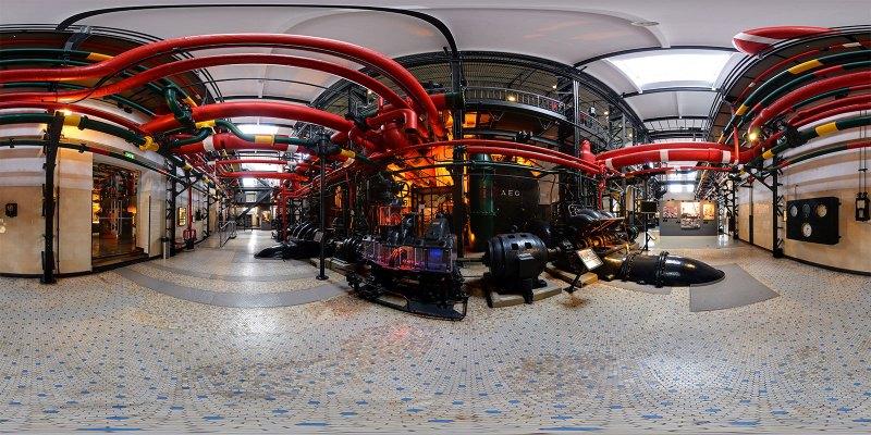 Generator, Eletricity Museum, Lisbon, Portugal