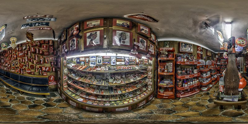FREEPORT Restaurant :: Bigger Coke Collection in Brasil - Tour 360°