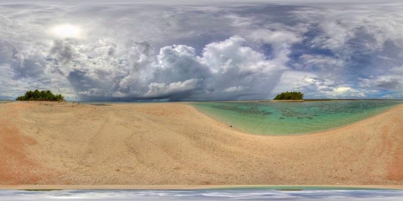Endangered Pacific Atoll - Nick Hobgood