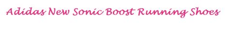 adidas sonic boost