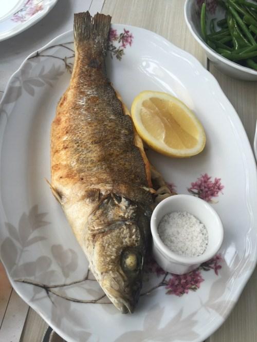 La Crêperie  grilled fish