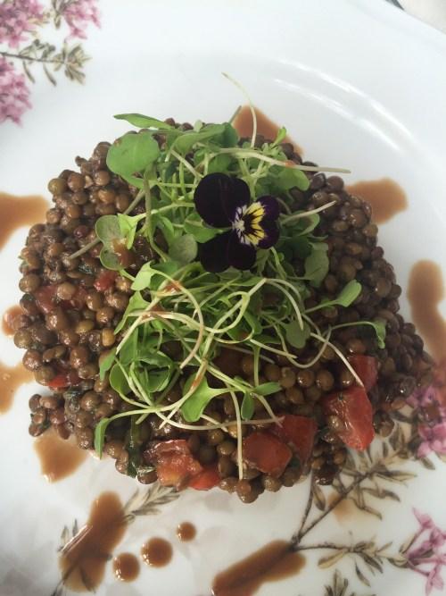 La Crêperie  Lentille salade