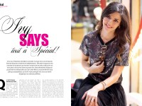 Ivy says Interview Special Magazine Dana Khairallah