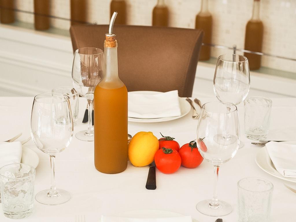 olive oil and tomatoe  la petite maison