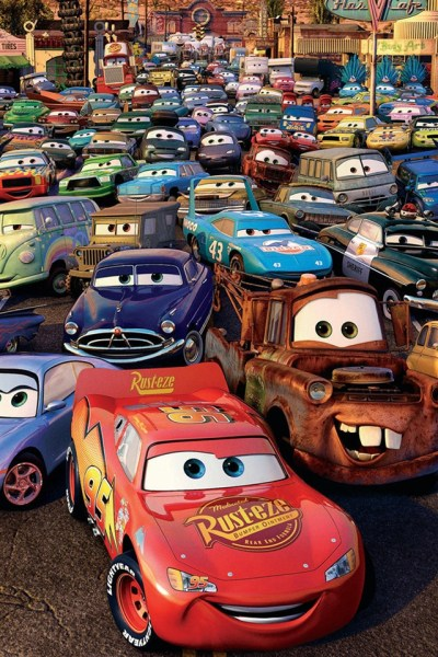 Cars 2, 3D movie iPhone X 8,7,6,5,4,3GS wallpaper download - iWALL365.com