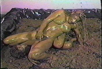 lesbians in mud