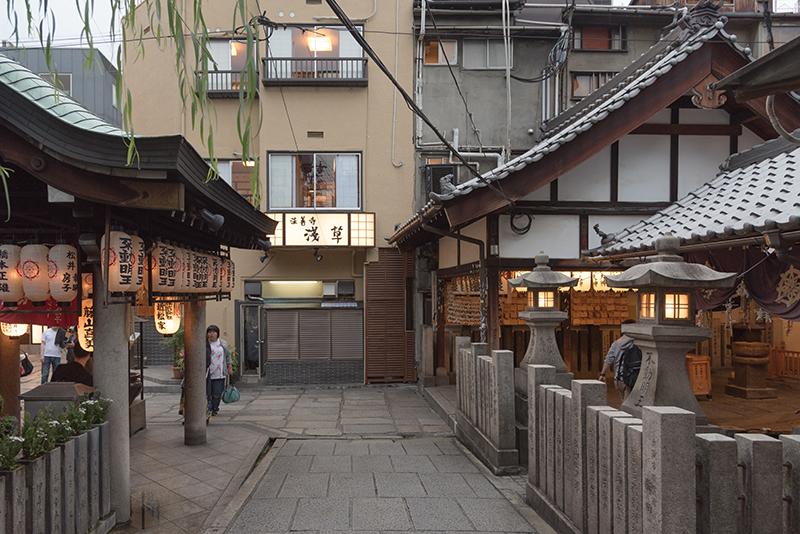 hozenji yokocho alley