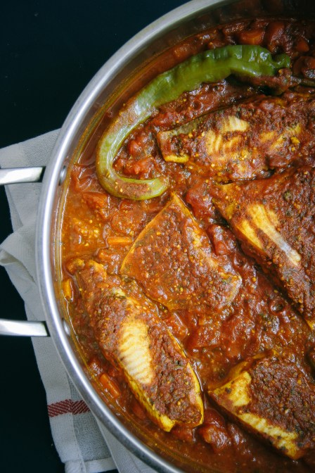 Spicy Moroccan Fish in a Tomato Sauce | I Will Not Eat Oysters