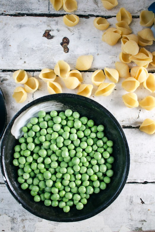Creamy Boursin Shells with Fresh Spring Peas| only 4 ingredients! | I Will Not Eat Oysters