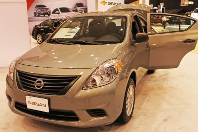 Nissan gave the 2013 Versa a major facelift for the new year.