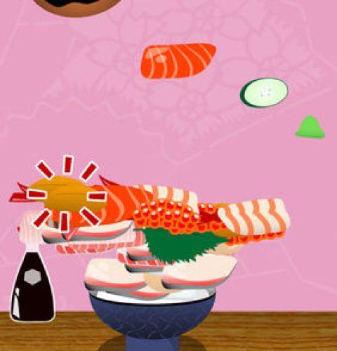 ミニゲーム もりもり海鮮丼画像1