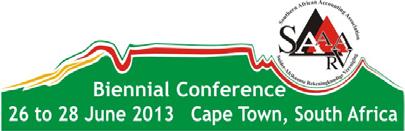 SAAA biennial conference logo