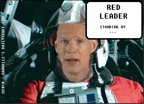 Ron Johnson : Red Leader standing by... c/o Gravelle's Daily Scoff @ DailyScoff.com