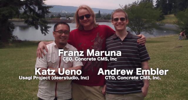 2009 concrete5 portland visit