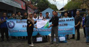 SP BPJS-TK memberi bantuan bagi korban bencana di Garut dan Sumedang  jabartoday.com/ISTIMEWA