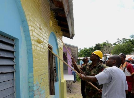 Labour day Jamaica, volunteer work