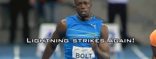 Another World Record for Usain Bolt!!! (Video)