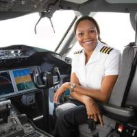 Soaring High! - Jamaican woman pilots one of the world's most advanced aircraft!