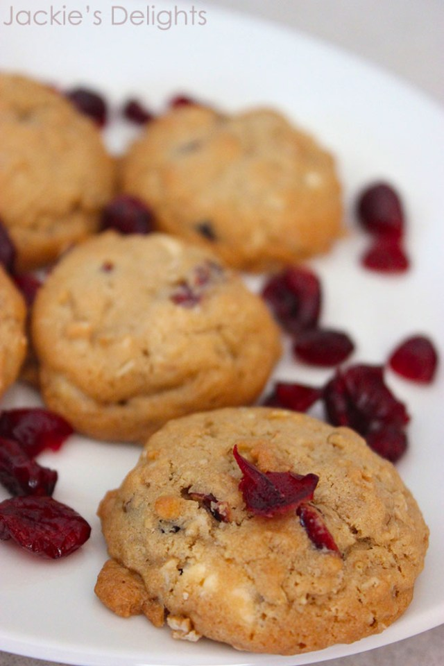 white chocolate cranberry cookies.4