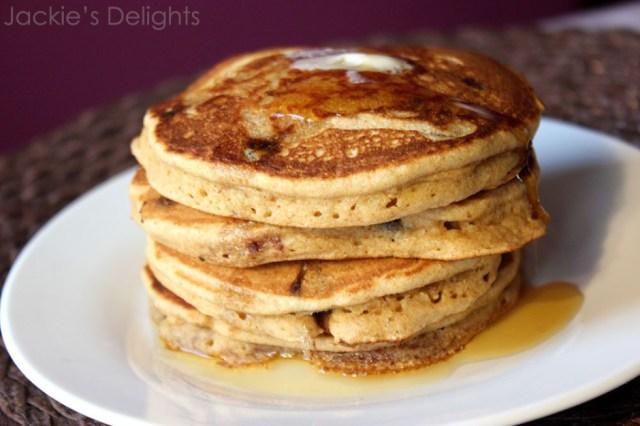 Chocolate chip pancakes.5