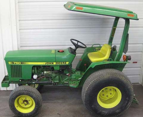 John Deere w/ JPS 750 For Sale