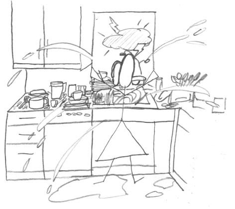 kitchen storm Chores: Take 2