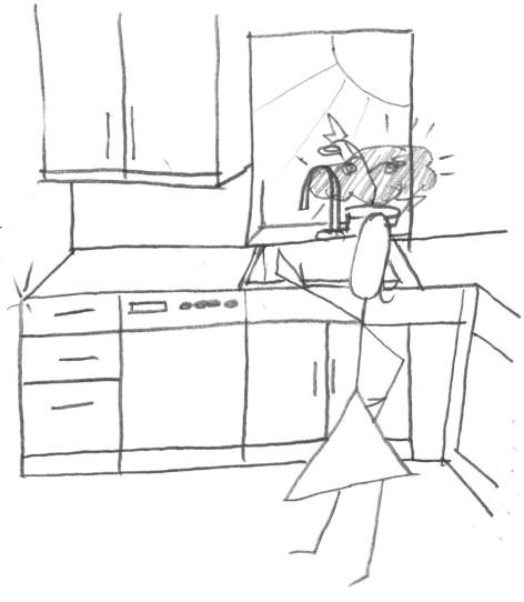 sparkling kitchen Chores: Take 2