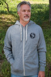 S - Gear Head french terry hoody s:p front