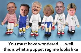 Puppet regime