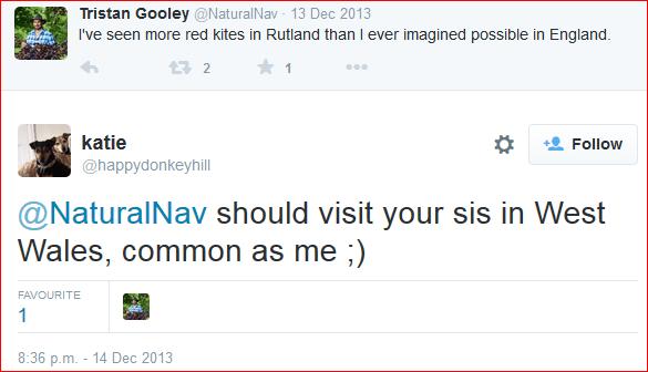 Tristan Gooley tweet