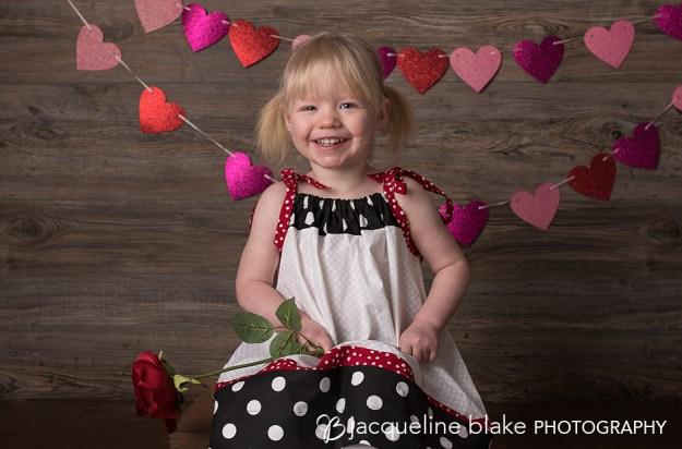 Ham Lake photography studio, valentine's day photo session