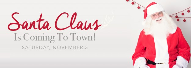 Pictures with Santa Claus in Ham Lake, near Blaine and Andover