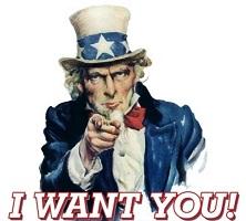 I want you oncle sam