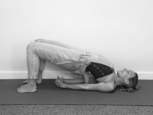 Yoga Poses For Cyclists Bridge Pose