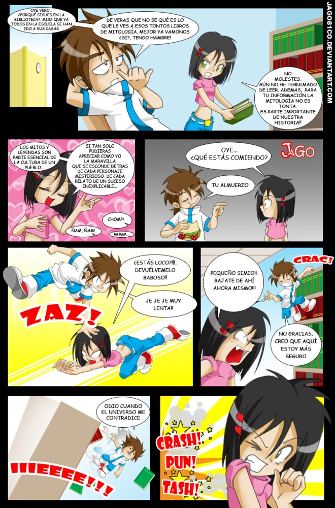 Diario Mágico comic completo (4/6)