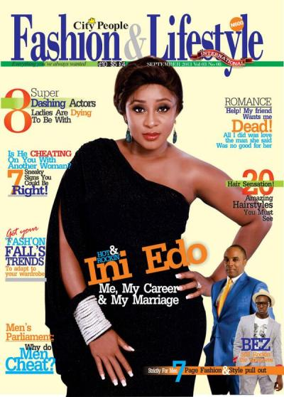 Ini Edo Covers September Issue of City People Fashion ...